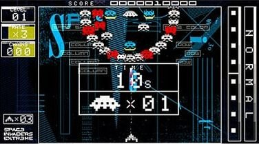 Space Invaders Extreme (PSP)  © Taito 2008   7/9