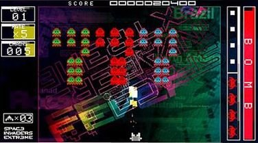 Space Invaders Extreme (PSP)  © Taito 2008   9/9