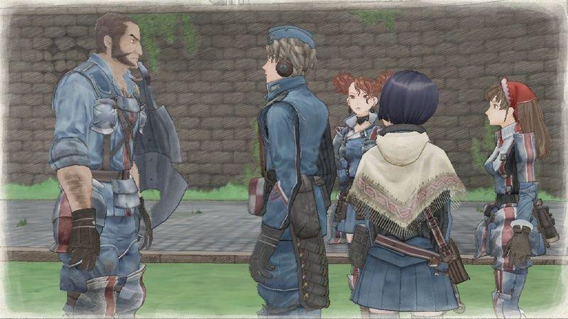 Valkyria Chronicles (PS3)  © Sega 2008   4/5