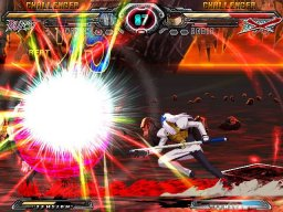 Guilty Gear XX: Accent Core (PS2)  © Aksys Games 2007   2/9