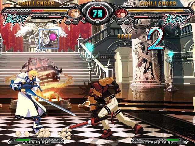 Guilty Gear XX: Accent Core (PS2)  © Aksys Games 2007   4/9