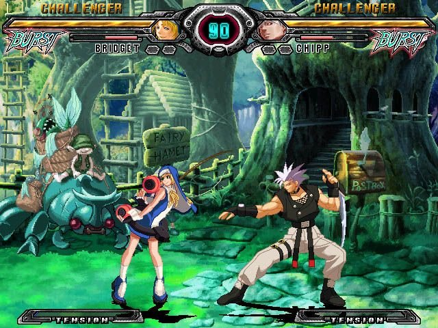 Guilty Gear XX: Accent Core (PS2)  © Aksys Games 2007   8/9