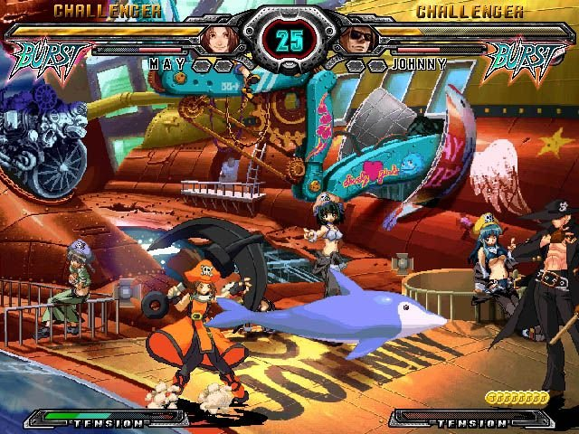 Guilty Gear XX: Accent Core (PS2)  © Aksys Games 2007   9/9