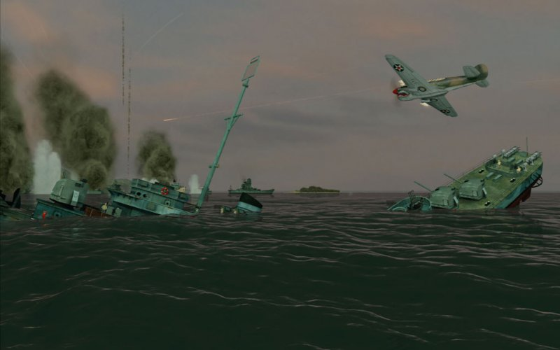Battlestations: Pacific (X360)   © Eidos 2009    4/5