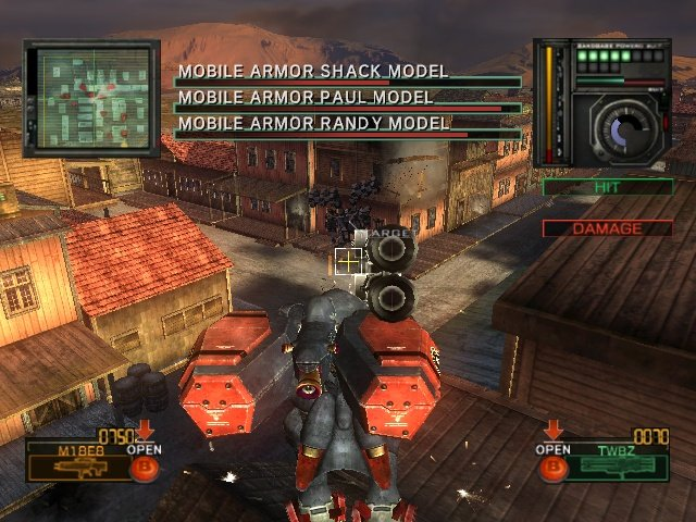 Metal Wolf Chaos (XBX)  © From Software 2004   16/18