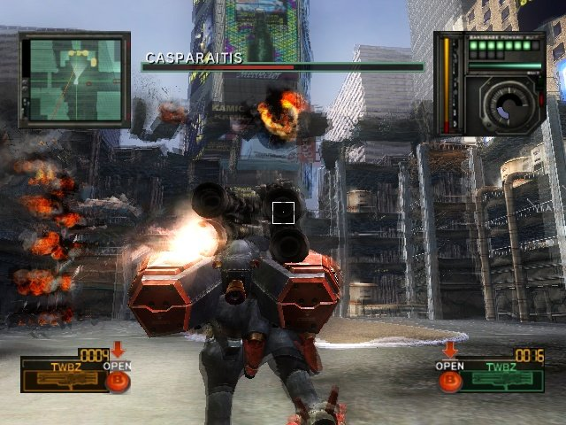 Metal Wolf Chaos (XBX)  © From Software 2004   17/18