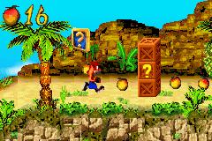 Crash & Spyro: Super Pack 1 (GBA)  © VU Games 2005   3/3