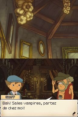 Professor Layton And Pandora's Box (NDS)   © Nintendo 2007    1/3