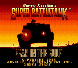 Super BattleTank: War In The Gulf (SMD)  © Absolute 1992   1/3