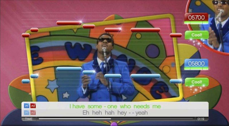 SingStar Motown (PS2)  © Sony 2009   4/5