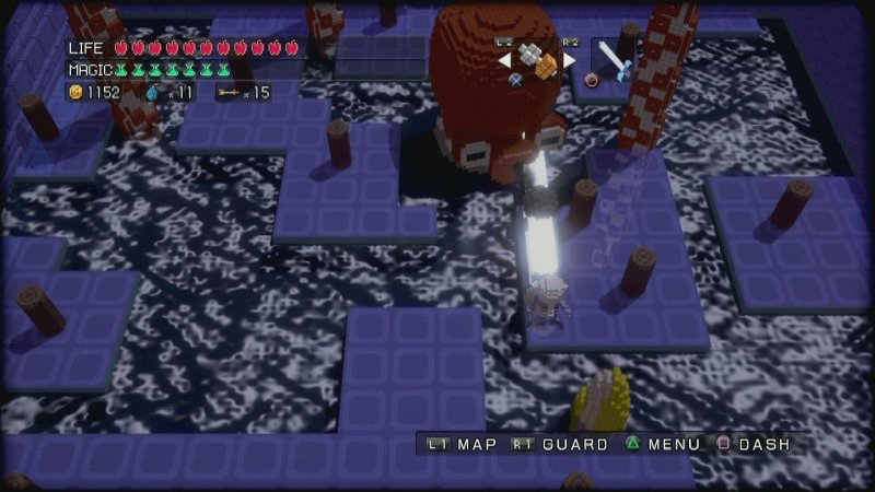 3D Dot Game Heroes (PS3)  © From Software 2009   4/6