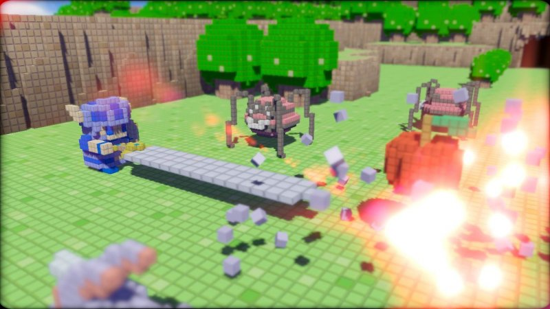 3D Dot Game Heroes (PS3)  © From Software 2009   6/6