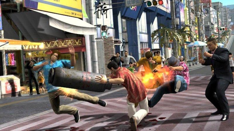 Yakuza 3 (PS3)  © Sega 2009   5/6