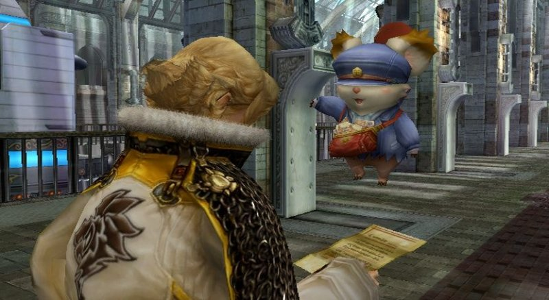 Final Fantasy: Crystal Chronicles: The Crystal Bearers (WII)  © Square Enix 2009   4/10