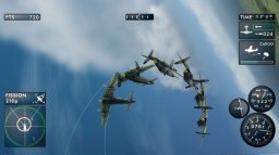 The Sky Crawlers: Innocent Aces (WII)  © Bandai Namco 2008   1/7