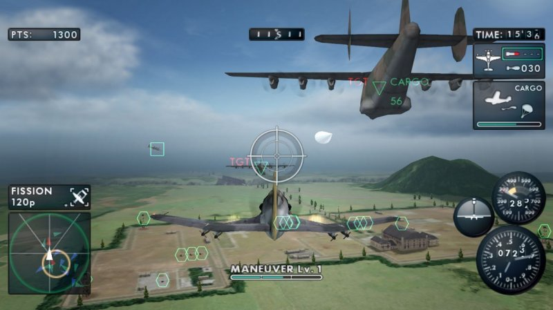 The Sky Crawlers: Innocent Aces (WII)  © Bandai Namco 2008   6/7