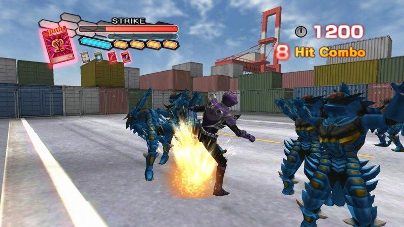Kamen Rider: Dragon Knight (WII)  © D3 2009   8/8
