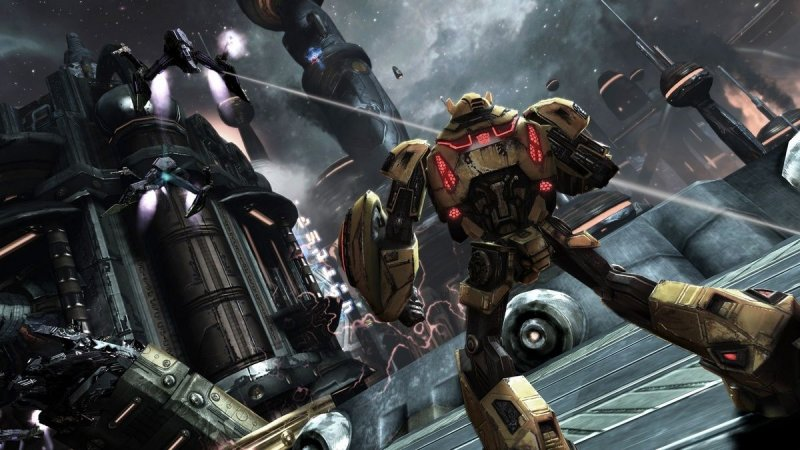 Transformers: War For Cybertron (PS3)   © Activision 2010    4/4
