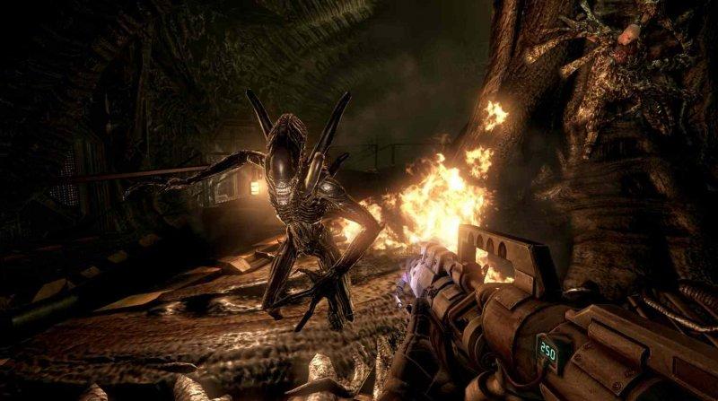 Aliens Vs. Predator (2010) (X360)  © Sega 2010   4/5