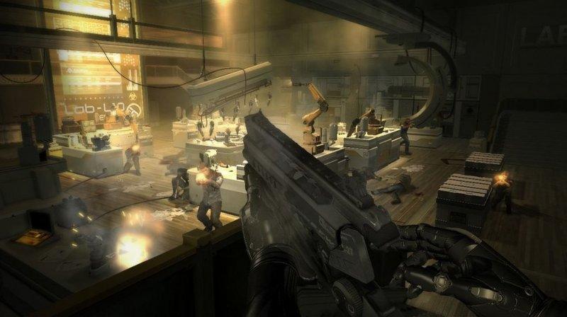 Deus Ex: Human Revolution (PS3)  © Eidos 2011   5/12