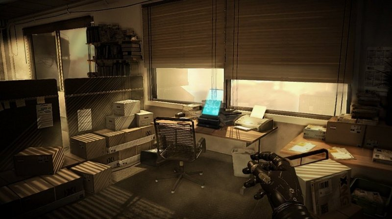 Deus Ex: Human Revolution (PS3)  © Eidos 2011   10/12