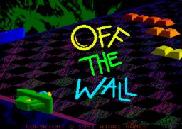 Off The Wall (1991) (ARC)  © Atari Games 1991   1/3