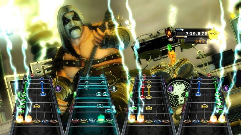 Guitar Hero: Warriors Of Rock (X360)  © Activision 2010   5/7
