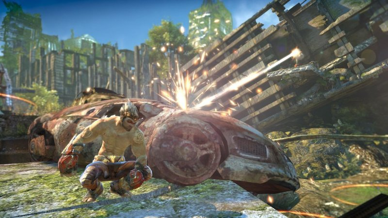 Enslaved: Odyssey To The West (X360)  © Bandai Namco 2010   4/9