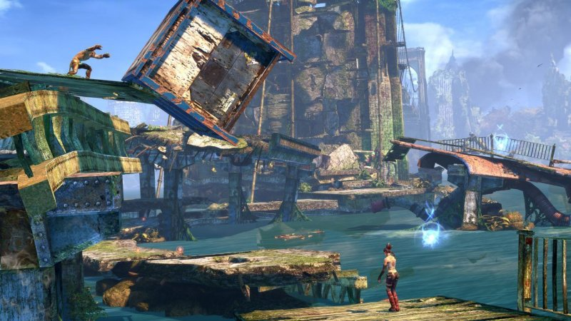 Enslaved: Odyssey To The West (X360)  © Bandai Namco 2010   8/9
