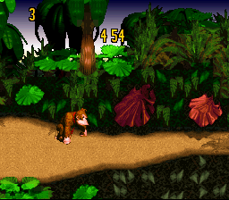 Donkey Kong Country Competition Cartridge  © Nintendo 1995  (SNES)   1/3