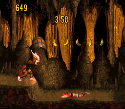 Donkey Kong Country Competition Cartridge  © Nintendo 1995  (SNES)   2/3