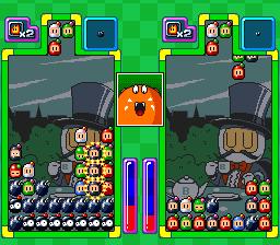 Super Bomberman: Panic Bomber W (SNES)  © Hudson 1995   3/3