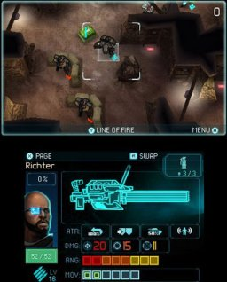 Ghost Recon: Shadow Wars (3DS)  © Ubisoft 2011   3/5