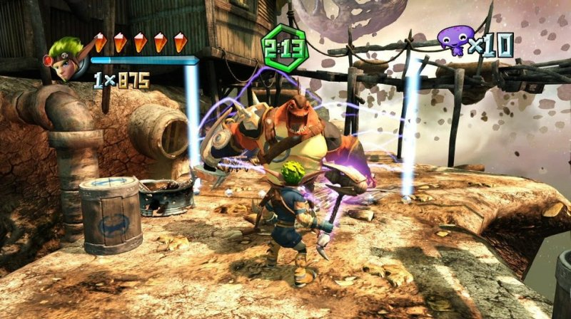 PlayStation Move Heroes (PS3)  © Sony 2011   4/4