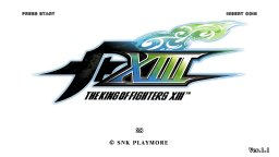 The King Of Fighters XIII (ARC)  © SNK Playmore 2010   1/4