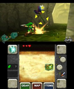 The Legend Of Zelda: Ocarina Of Time  © Nintendo 2011  (3DS)   1/6
