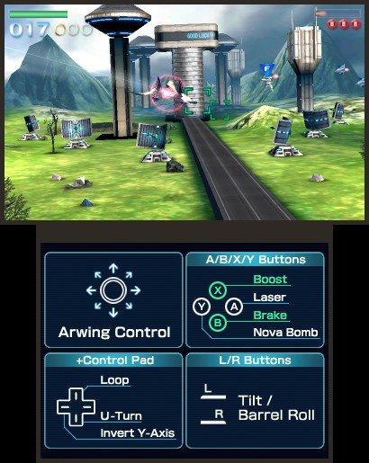 StarFox 64  © Nintendo 2011  (3DS)   4/7