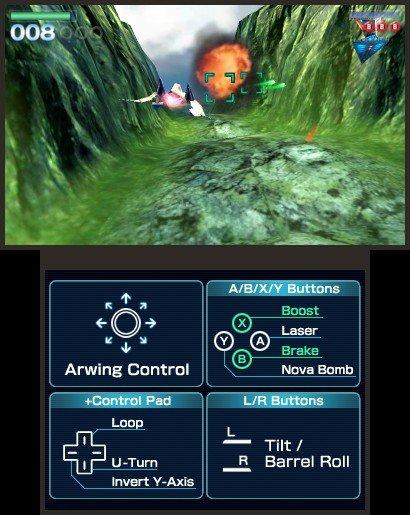 StarFox 64  © Nintendo 2011  (3DS)   5/7