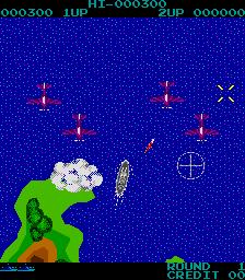 D-Day (1984) (ARC)  © Jaleco 1984   2/3