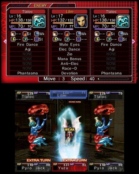 Shin Megami Tensei: Devil Survivor: Overclocked (3DS)  © Atlus 2011   4/5