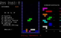 Tetris (PC)  © AcademySoft 1986   1/1