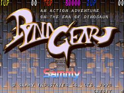 Dyna Gear (ARC)  © Sammy 1994   1/3