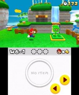 Super Mario 3D Land  © Nintendo 2011  (3DS)   1/3