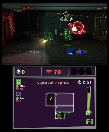 Luigi's Mansion 2  © Nintendo 2013  (3DS)   4/5