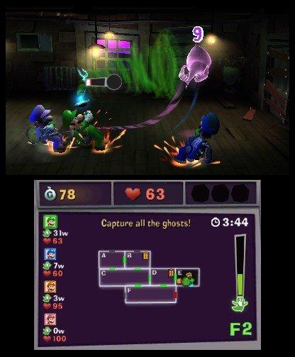 Luigi's Mansion 2  © Nintendo 2013  (3DS)   5/5