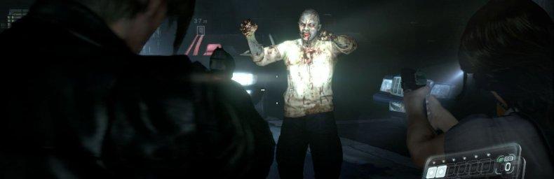 """<h2 class='titel'>Resident Evil 6</h2><h2 class='score'>2/10</h2><div><span class='citat'>""""Det ringeste RE-spil, men også et af de dårligere spil jeg har spillet. På ikke ét eneste punkt formår spillet at levere noget som helst funktionelt. Bør absolut spilles i co-op, hvis overhovedet.""""</span><span class='forfatter'>- Konsolkongen</span></div>"""