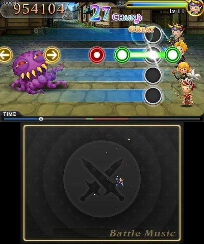 Theatrhythm Final Fantasy (3DS)   © Square Enix 2012    4/5