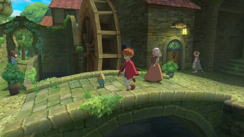 Ni No Kuni: Wrath Of The White Witch (PS3)   © Level-5 2011    6/8