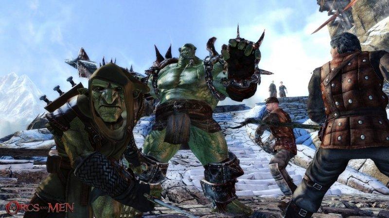 Of Orcs And Men (X360)  © Focus 2012   4/4