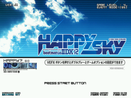 Beatmania IIDX 12: Happy Sky (ARC)   © Konami 2005    1/3